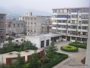 Front of Yangquan School