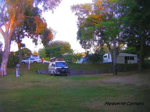Camped at Emu Park
