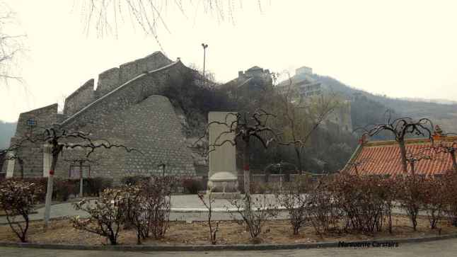 Relaxing garden at the Great Wall Yangquan
