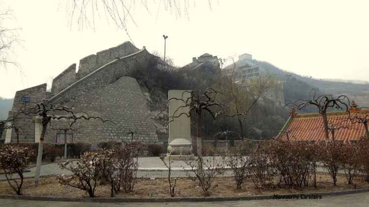 Relaxing garden at the Great Wall Yangquan