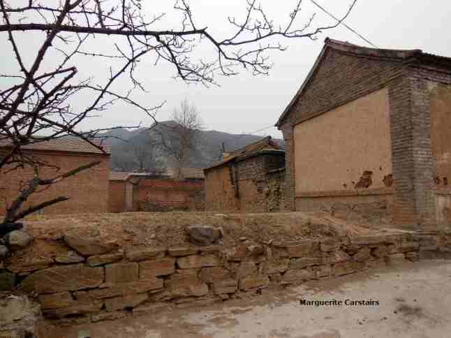 The walls are built from local stone collected from the mountain and brought down in hand carts