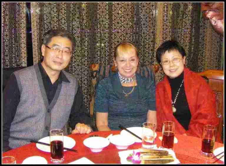 Mr Zheng, Principal Maria and Maggi