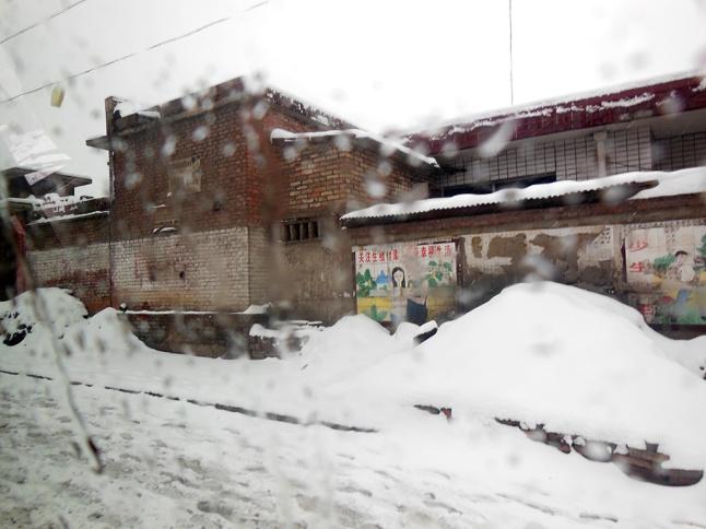 snowy villages