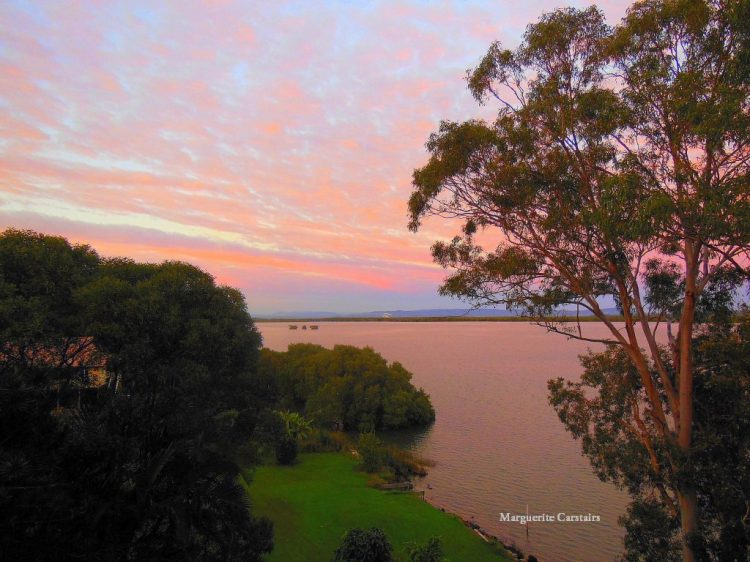 View from Verandah 20 May sunrise