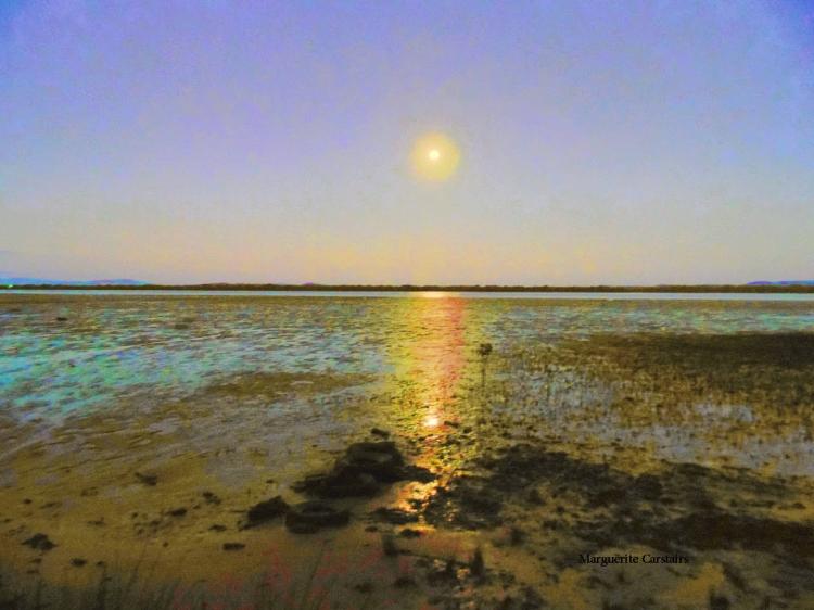 Moon set 26 May..bright