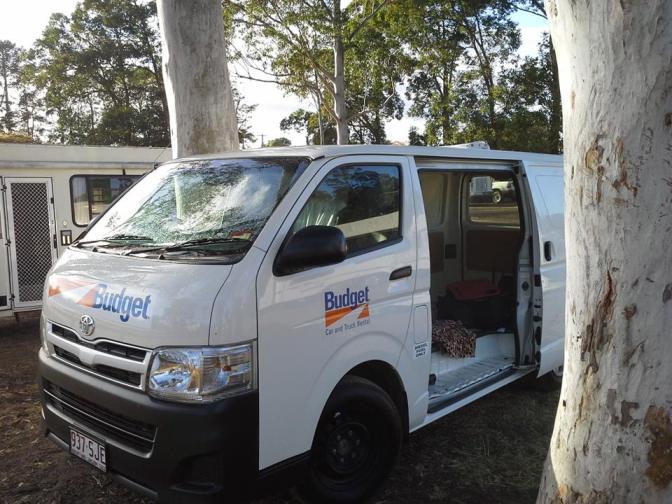Van Camped