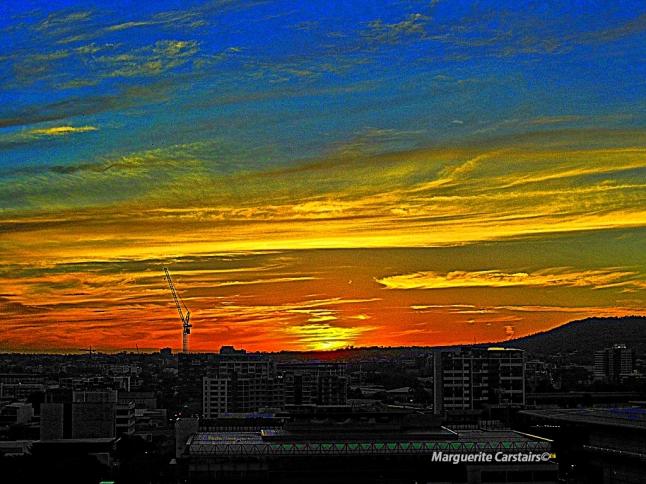 Sunset Southbank 23 Dec