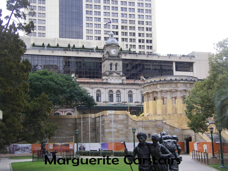 Anzac Square and PO