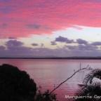 Sunset Russell Island 17 November