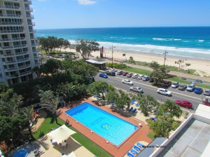 View from Chateau Surfers Paradise