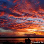 Sunset Russell Island 19 May 2015