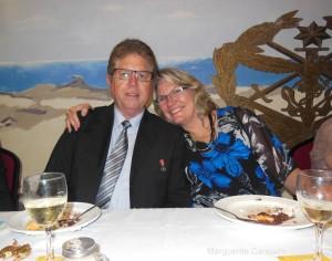 RSL President Anthony and wife Katrina