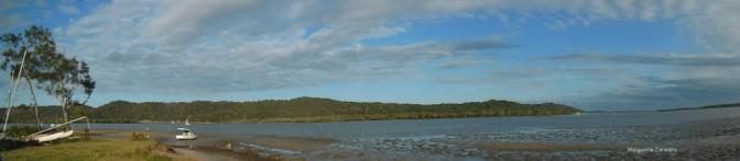 Sandy Beach Panorama