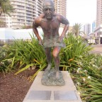 Peter Lacey Monument Surfers Paradise