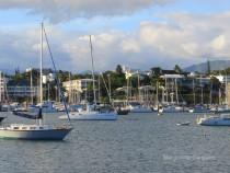 Yachts on Baie de L'orphelinat