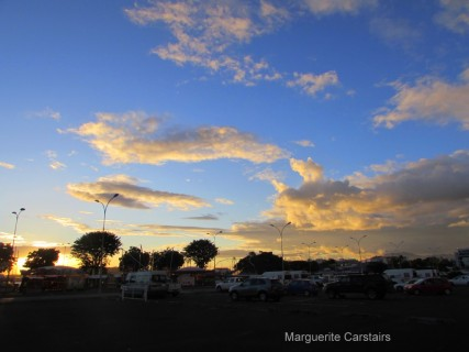 Sunset Noumea
