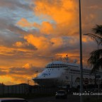 Sunset at Noumea