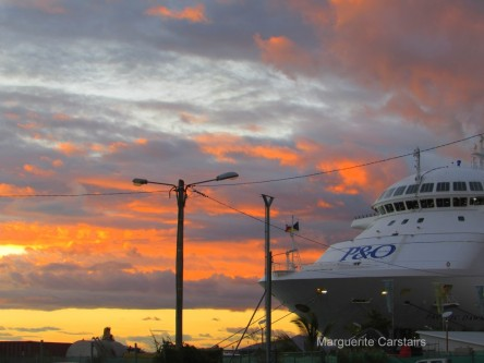 Sunset Noumea