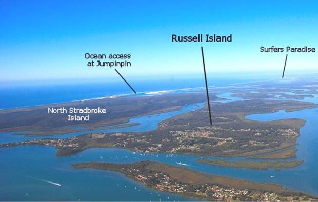 Russell island