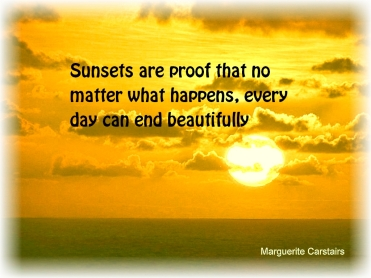 Sunsets are proof that no matter what happens, every day can end beautifully