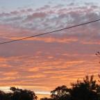 Sunrise Russell Island 11 June