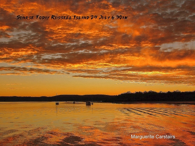 Sunrise Today 24 July