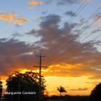 Sunset Tonight and Yesterday
