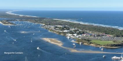 Marina Mirage and Sea World ahead