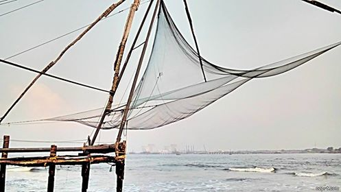 fishing nets..