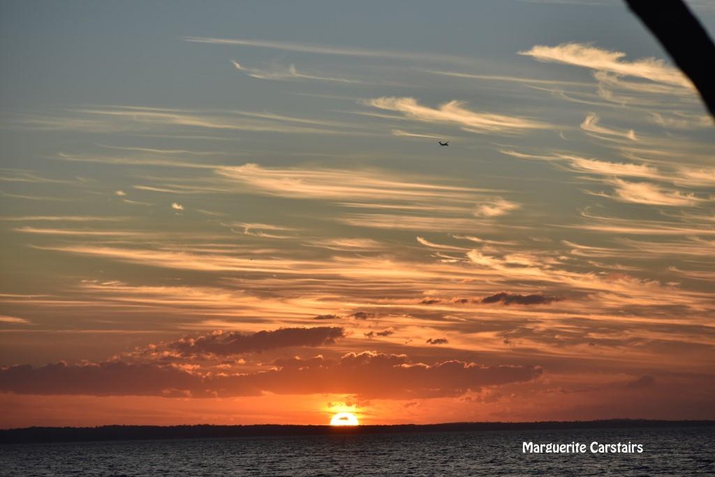Sunset Fraser Island August 4