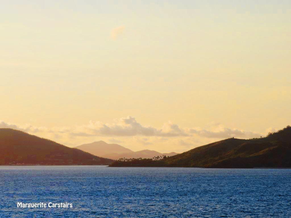 Sunrise and Sunset Hamilton Island Whitsundays..