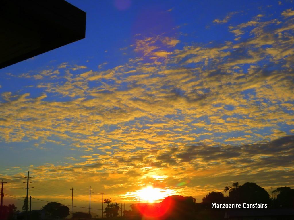 Sunrise August 8