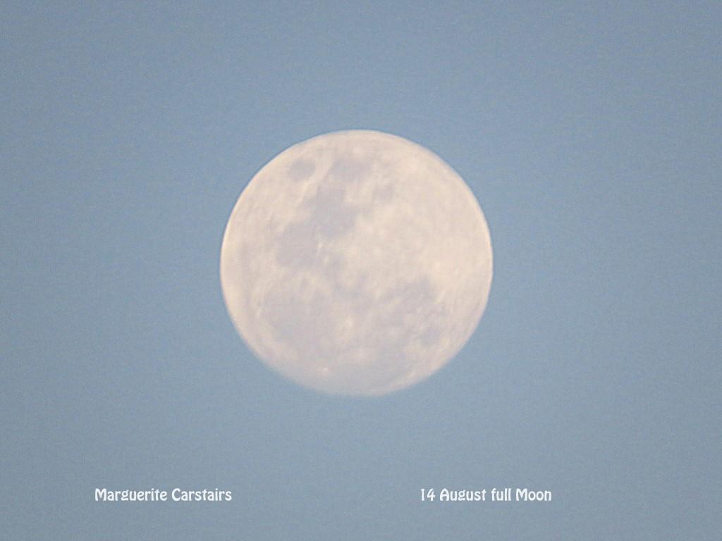 August 14 Full Moon