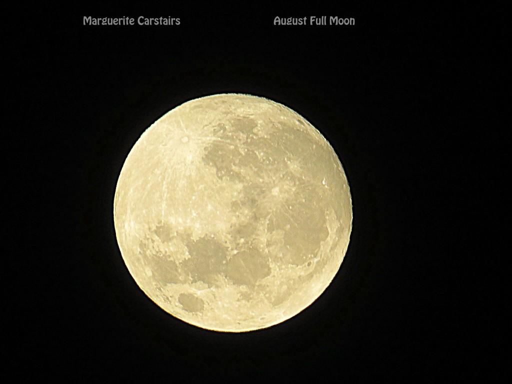 August Full Moon 15 August